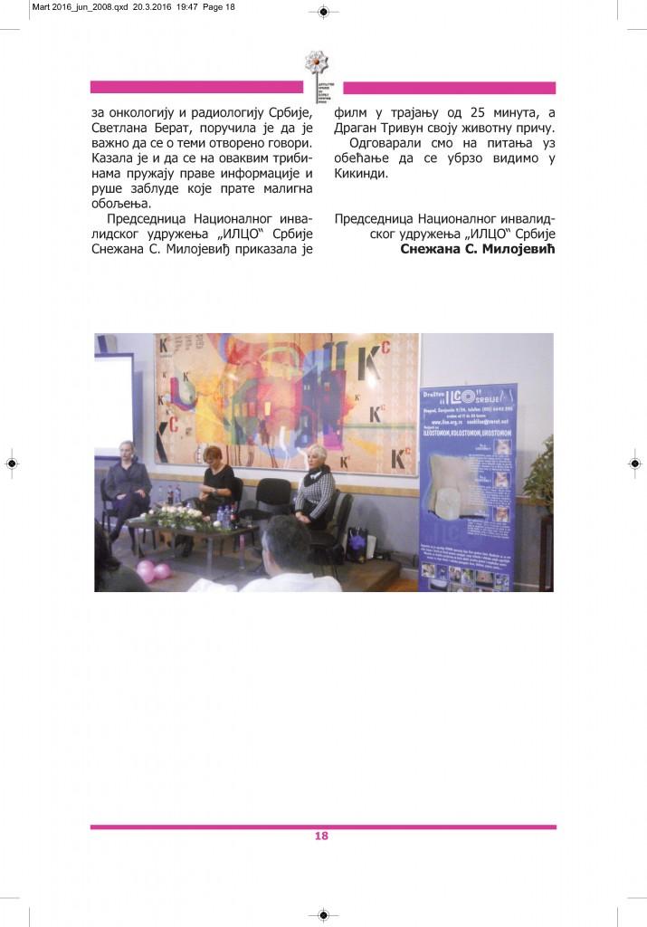 Časopis RAK, broj 99, mart 2016, strana 18