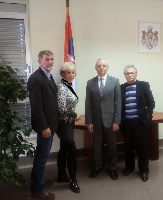 KONZULAT BANJA LUKA -   Dragan Trivun, Snezana Cmiljanic-Milojevic, konzul g-din Radoslav Ilic, Prim. dr  Momir Pusac