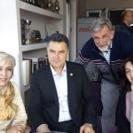 Novi Pazar 24 mart 2018 Snezana S. Milojevic ,Nihad Bisevac gradonacelnik,Dragan Trivun,Alma Junis