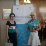 Snezana S.Milojevic i Verica dr. Milovanovic Predsednica UMSTS Načelnik za zdravstvenu negu VMA