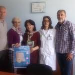 NOVI PAZAR DOM ZDRAVLJA Direktor doma zdravlja dr.Eervin Corovic ,Snezana S.Milojevic, Alma Junis,doktorka,Dragan Trivun
