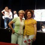 Snezana S.Milojevic i i Ranka Celic-clanovi Fondacija medjugeneracijski volonterski centar